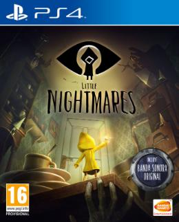 Carátula de Little Nightmares para PlayStation 4