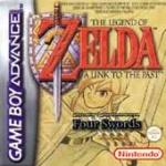 Car�tula de The Legend of Zelda: A Link To The Past / Four Swords