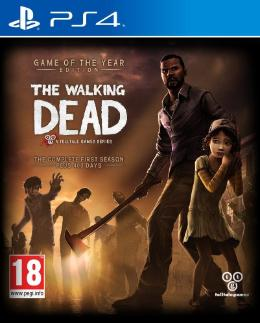 Carátula de The Walking Dead: The Complete First Season para PlayStation 4
