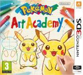 Carátula o portada Europea del juego Pokémon: Art Academy para Nintendo 3DS