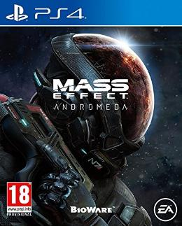 Carátula de Mass Effect: Andromeda para PlayStation 4