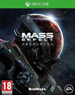 Carátula de Mass Effect: Andromeda para Xbox One