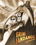 Carátula de Grim Fandango Remastered para PlayStation Vita