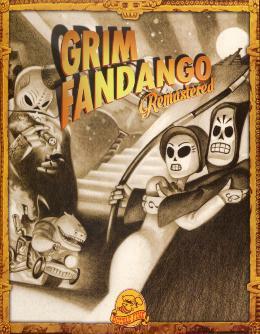 Carátula de Grim Fandango Remastered para PlayStation 4