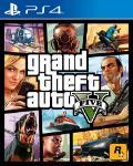 Carátula o portada Europea del juego Grand Theft Auto V para PlayStation 4