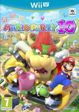 Carátula de Mario Party 10 para Wii U