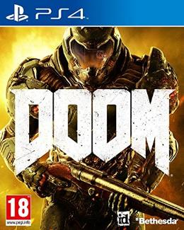 Carátula de Doom (2016) para PlayStation 4