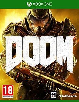 Carátula de Doom (2016) para Xbox One