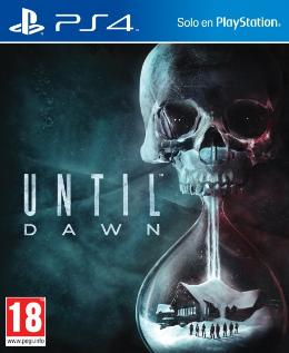 Carátula de Until Dawn para PlayStation 4