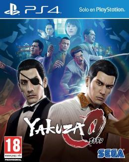 Carátula de Yakuza Zero: The Oath's Place para PlayStation 4