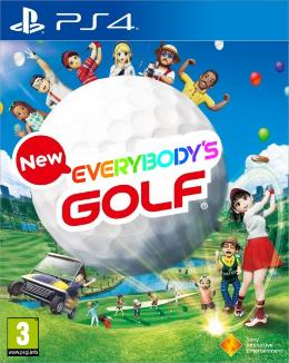 Carátula de Everybody's Golf (2017) para PlayStation 4