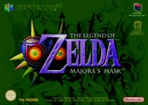 Carátula de The Legend of Zelda: Majora's Mask