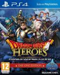 Carátula de Dragon Quest: Heroes para PlayStation 4