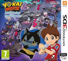 Carátula de Yo-kai Watch 2: Mentespectros para Nintendo 3DS