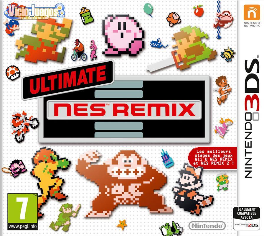 Todas Las Caratulas O Portadas Del Videojuego Ultimate Nes Remix