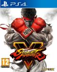 Carátula de Street Fighter V para PlayStation 4