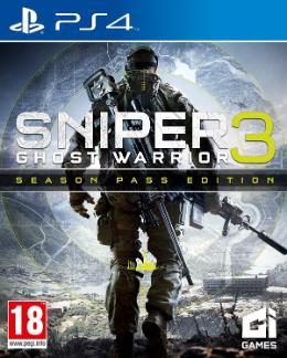 Carátula de Sniper: Ghost Warrior 3 para PlayStation 4