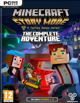 Carátula de Minecraft: Story Mode para PC