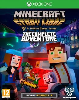 Carátula de Minecraft: Story Mode para Xbox One