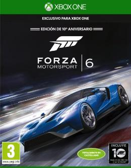 Carátula de Forza Motorsport 6 para Xbox One