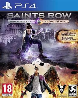 Carátula de Saints Row IV: Re-elected para PlayStation 4