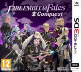 Carátula de Fire Emblem Fates: Conquista para Nintendo 3DS