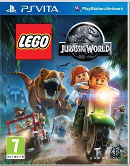 Carátula de LEGO Jurassic World para PlayStation Vita