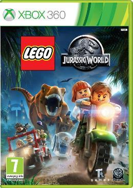 Carátula de LEGO Jurassic World para Xbox 360