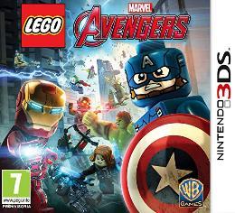 Carátula de LEGO Marvel Vengadores para Nintendo 3DS