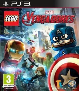 Carátula de LEGO Marvel Vengadores para PlayStation 3