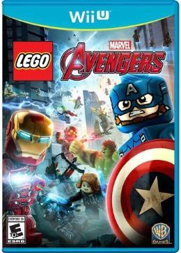 Carátula de LEGO Marvel Vengadores para Wii U