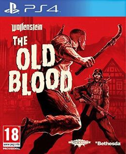 Carátula de Wolfenstein: The Old Blood para PlayStation 4