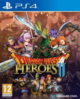 Carátula de Dragon Quest: Heroes II para PlayStation 4