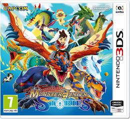 Carátula de Monster Hunter: Stories para Nintendo 3DS