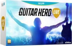 Carátula de Guitar Hero Live para Wii U