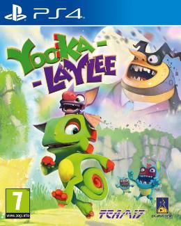 Carátula de Yooka-Laylee para PlayStation 4