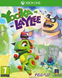Carátula de Yooka-Laylee para Xbox One