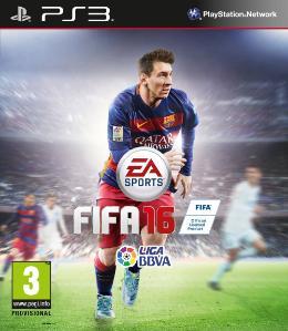 Carátula de FIFA 16 para PlayStation 3