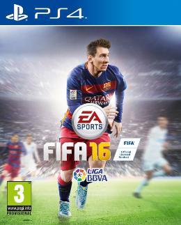 Carátula de FIFA 16 para PlayStation 4