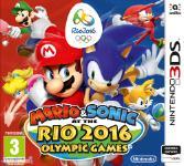 Carátula de Mario y Sonic en los Juegos Olímpicos: Rio 2016 para Nintendo 3DS
