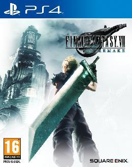 Carátula de Final Fantasy VII Remake