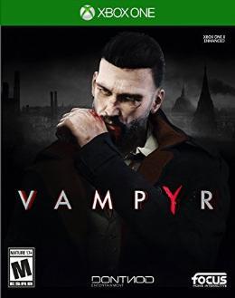 Carátula de Vampyr para Xbox One