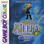 Carátula de The Legend of Zelda: Oracle of Ages para Game Boy Color
