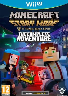 Carátula de Minecraft: Story Mode para Wii U