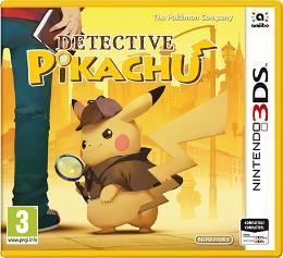 Carátula de Detective Pikachu para Nintendo 3DS