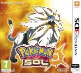 Carátula de Pokémon Sol para Nintendo 3DS