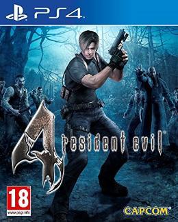 Carátula de Resident Evil 4 para PlayStation 4