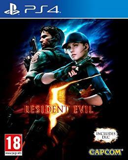 Carátula de Resident Evil 5 para PlayStation 4