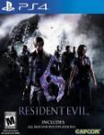 Carátula de Resident Evil 6 para PlayStation 4