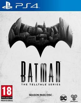 Carátula de Batman: A Telltale Game Series para PlayStation 4